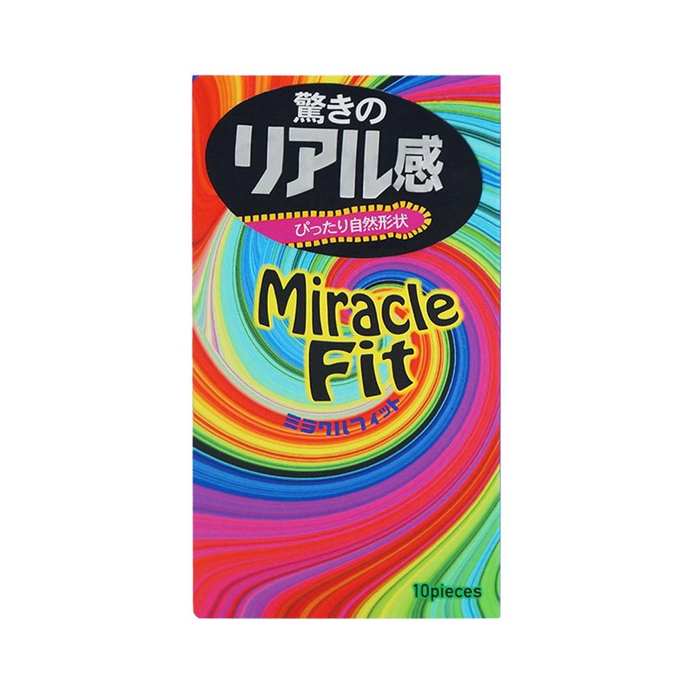 Bao cao su Sagami Miracle Fit ôm khít, tăng khoái cảm, Hộp 10 cái