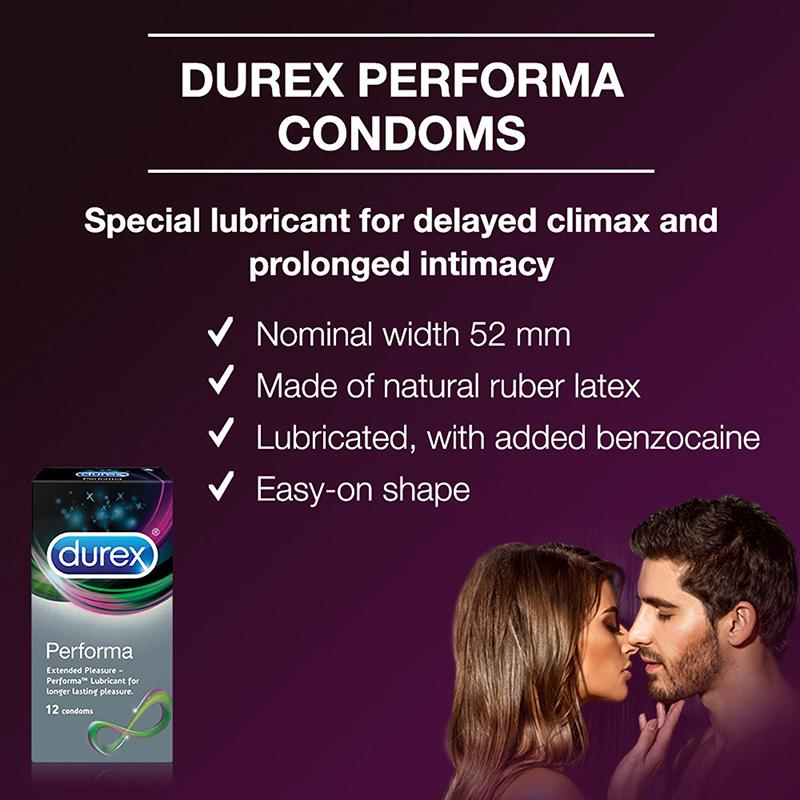 Bao cao su Durex Performa