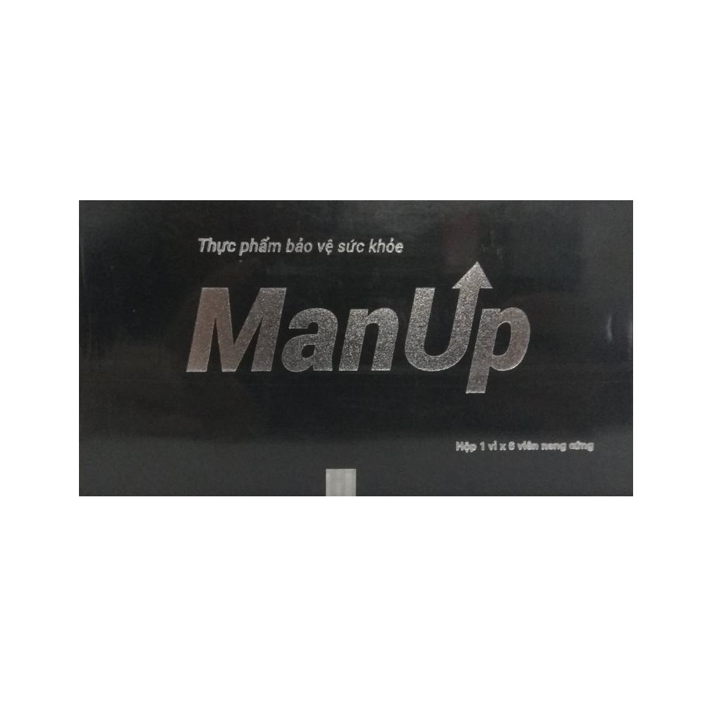 ManUp kéo dài thời gian quan hệ, tăng cường sinh lý nam, Hộp 6 viên