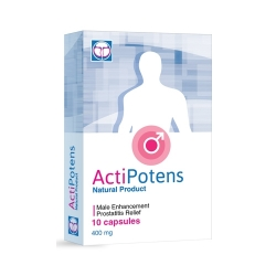 ActiPotens hỗ trợ bệnh tuyến tiền liệt, Hộp 10 viên