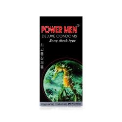 Bao cao su cá ngựa Power Men Long Shock Type tăng khoái cảm, Hộp 12 cái