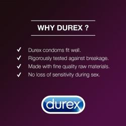 Bao cao su Durex Performa kéo dài thời gian quan hệ, Hộp 12 cái