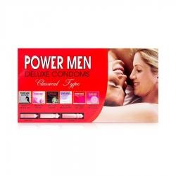 Bao cao su gia đình Power Men Classical Type bôi trơn, Hộp 12 cái