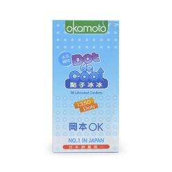 Bao cao su Okamoto Dot De Cool gai lạnh kéo dài thời gian, Hộp 10 cái