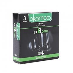 Bao cao su Okamoto Strong kéo dài thời gian, Hộp 3 cái