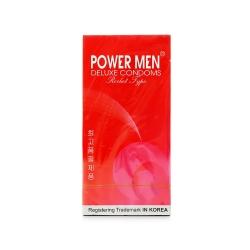 Bao cao su Power Men Rocket Type có gân và hạt nổi, Hộp 12 cái