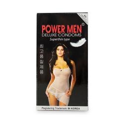 Bao cao su Power Men Superthin siêu mỏng, Hộp 12 cái