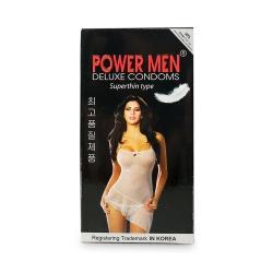 Bao cao su Power Men Superthin siêu mỏng, Hộp 2 cái