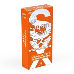 Bao cao su Sagami Love Me Orange siêu mỏng, bôi trơn, Hộp 10 cái