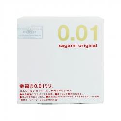 Bao cao su Sagami Original 0.01 siêu mỏng, Hộp 1 cái
