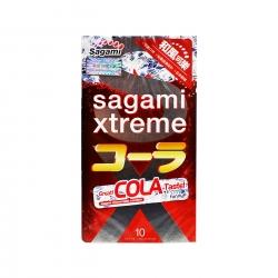 Bao cao su Sagami Xtreme Cola hương vị cola, Hộp 10 cái