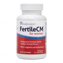 Fairhaven Health FertileCM for Women dành cho cổ tử cung yếu, thành dạ yếu, Chai 90 viên