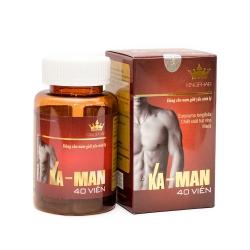 Ka-Man Kingphar tăng cường sinh lý nam, Hộp 40 viên