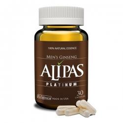 Sâm Alipas Platinum tăng cường sinh lý nam, Hộp 30 viên