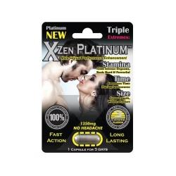 Thảo dược cương dương XXX Zone Platinum, Vỉ 1 viên
