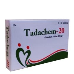 Thảo dược cương dương Tadachem 20mg, Hộp 4 viên
