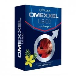 Omexxel Libido Plus Omega 3 tăng cường ham muốn, Hộp 30 viên