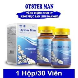 Tinh chất hàu Oyster Man tăng cường sinh lý nam, Hộp 30 viên